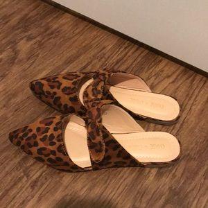 Cheetah slip on loafers!!!
